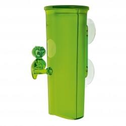 Zásobník na odličovací tampóny Florence zelená