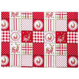 Trade Concept Prostírání Country patchwork červená, 33 x 45 cm