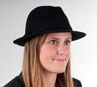 Dámský klobouk Karpet 1096, černý, 57 / 58