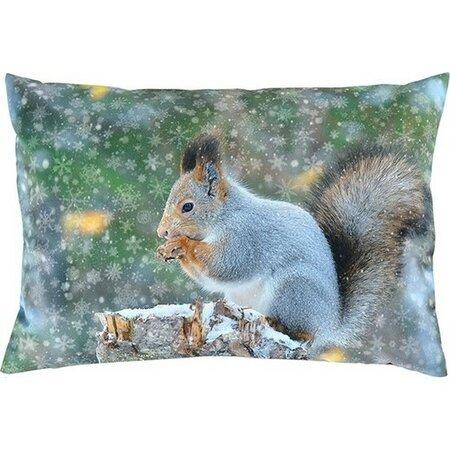 Pernă decorativă Sander Snow squirrel, 35 x 50 cm
