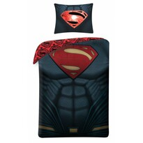 Superman 4003 pamut ágynemű, 140 x 200 cm, 70 x 90 cm