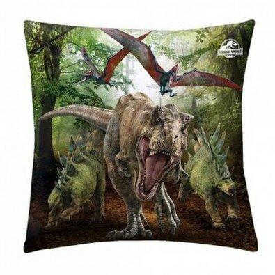 Jurassic Park párna, 40 x 40 cm