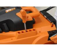 Elektrická rotační sekačka Sharks SH 6123, oranžová