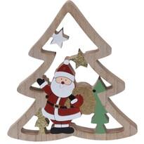 Koopman Vianočná dekorácia Santa's tree, 17 cm