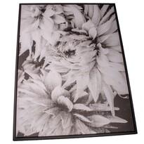Dahlia keretezett vászonkép, 50 x 70 cm