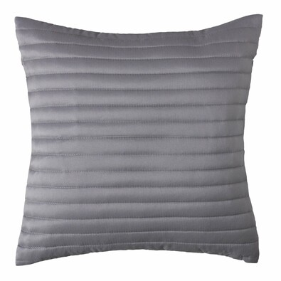Povlak na polštářek Mondo stříbrná, 40 x 40 cm, sada 2 ks