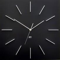 Future Time FT1010BK Square black Designové nástenné hodiny, 40 cm
