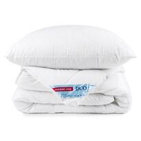 Zestaw poduszki i kołdry Thermo Line duo Calme, 140 x 200 cm, 70 x 90 cm