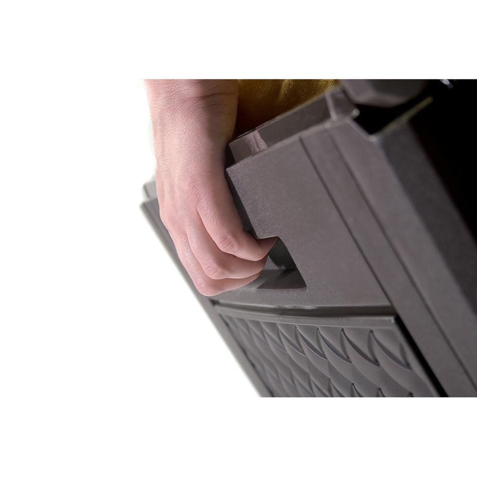 Produktové foto Prosperplast Zahradní úložný box Matuba hnědá, 310 l
