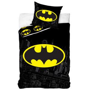 Dětské bavlněné povlečení Batman, 140 x 200 cm, 70 x 80 cm