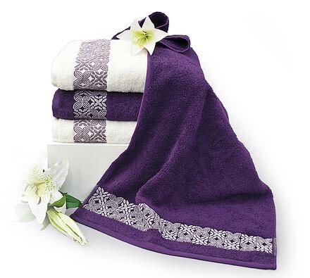 Bavlněné ručníky a osušky, 2 ks 70 x 140 cm