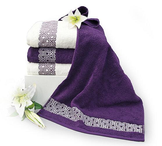 Sada bavlněných ručníků a osušek