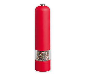 Elektrický mlýnek na koření červený