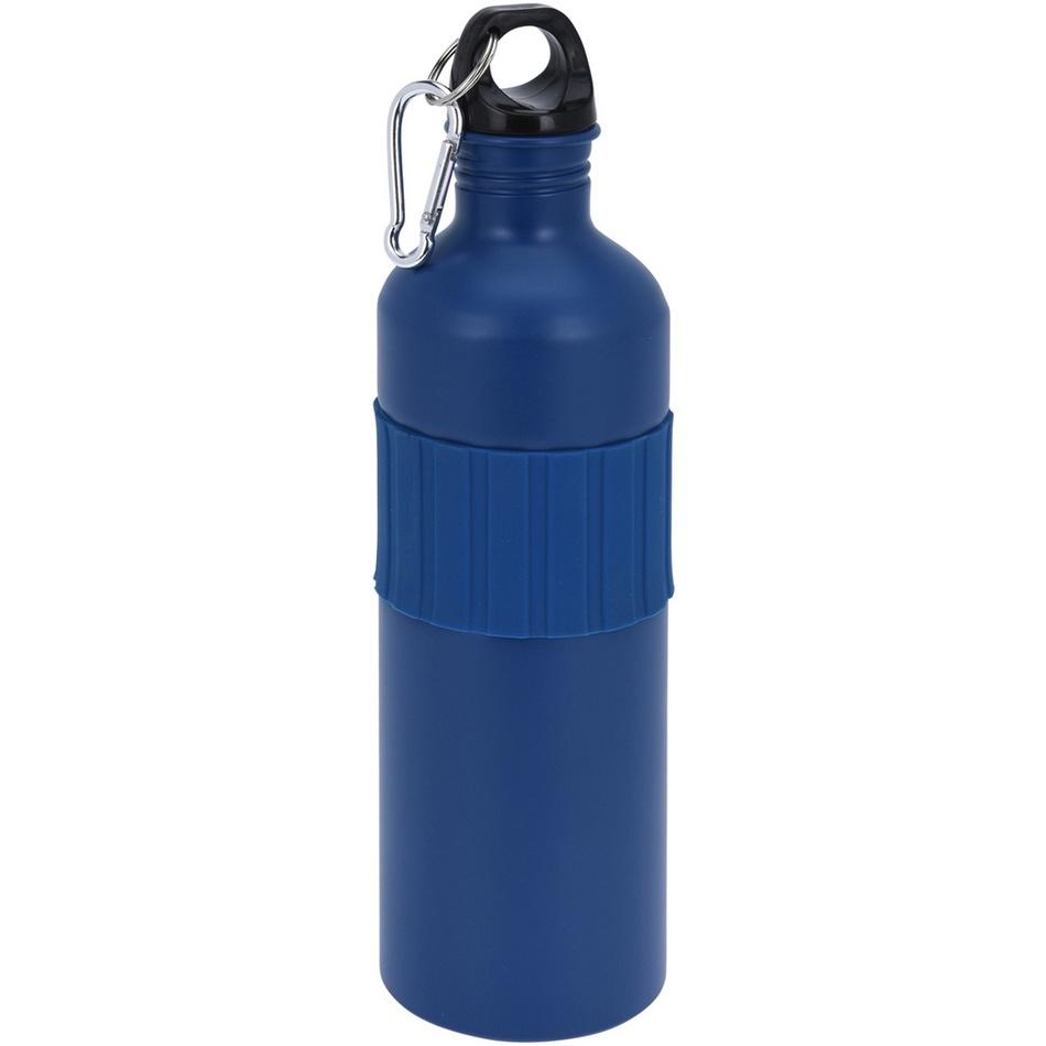 Koopman Sportovní hliníková láhev s uzávěrem 750 ml, navy