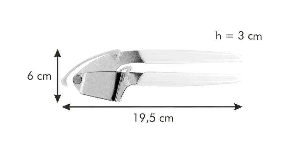 Tescoma Lis na česnek se stěrkou PRESTO