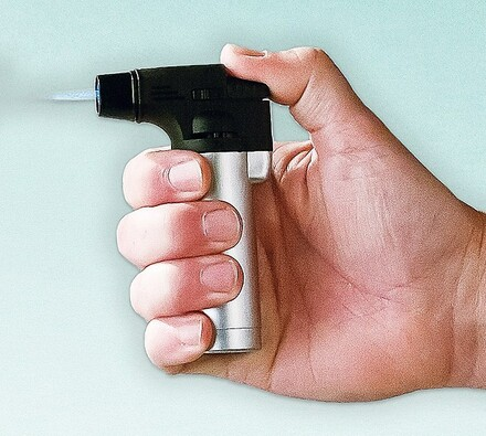 Flambovací pistole pro Creme brulée