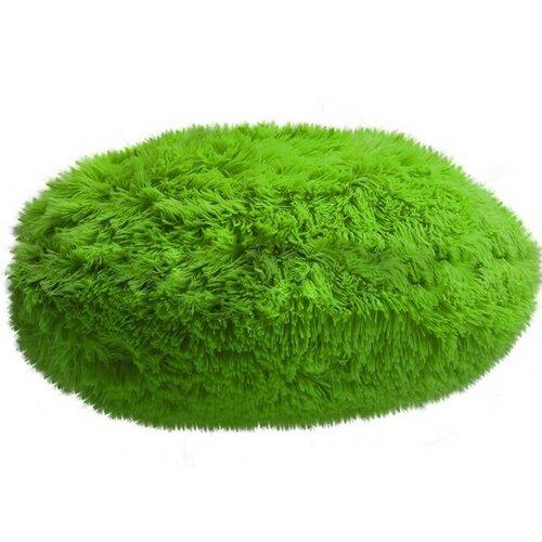 Domarex Polštář kulatý Queen světle zelená, 50 cm