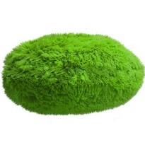 Pernă rotundă Domarex Queen, verde deschis, 50 cm