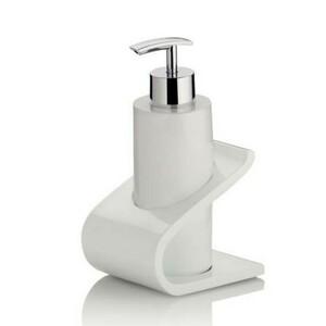 Kela Dávkovač mýdla Liam bílá, 200 ml