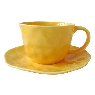 Altom Sunny csésze csészealjjal, 200 ml