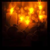 LED Obraz Vánoční kouzlo