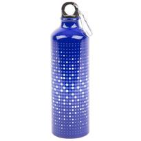 Aluminiowa butelka sportowa 750 ml, niebieski