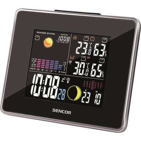 Sencor SWS 260 Meteorológiai állomás színes kijelzővel