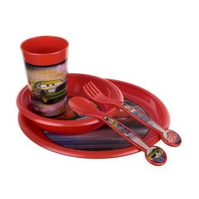 Banquet Cars dětská jídelní sada