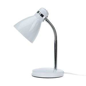 Stolní lampa Cassino bílá, 34 cm