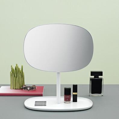 Zrcadlo Flip Mirror bílé