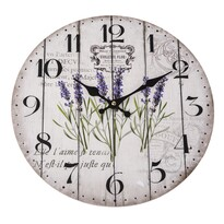 Nástěnné hodiny Violet, 34 cm