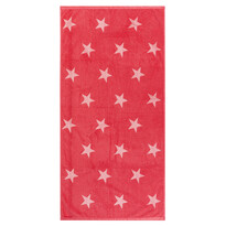 Ręcznik kąpielowy Stars różowy