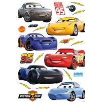 Naklejka Cars, 42,5 x 65 cm