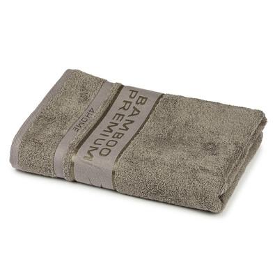 4Home Osuška Bamboo Premium šedá, 70 x 140 cm