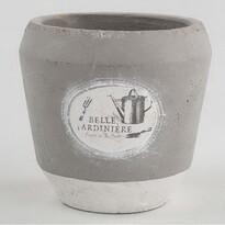 Osłonka betonowa na doniczkę Belle, 16 x 15,5 cm