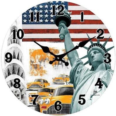 Lowell 14849 nástěnné hodiny