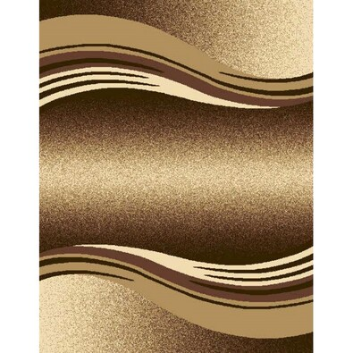 Kusový koberec Enigma 9358 Brown, 80 x 150 cm