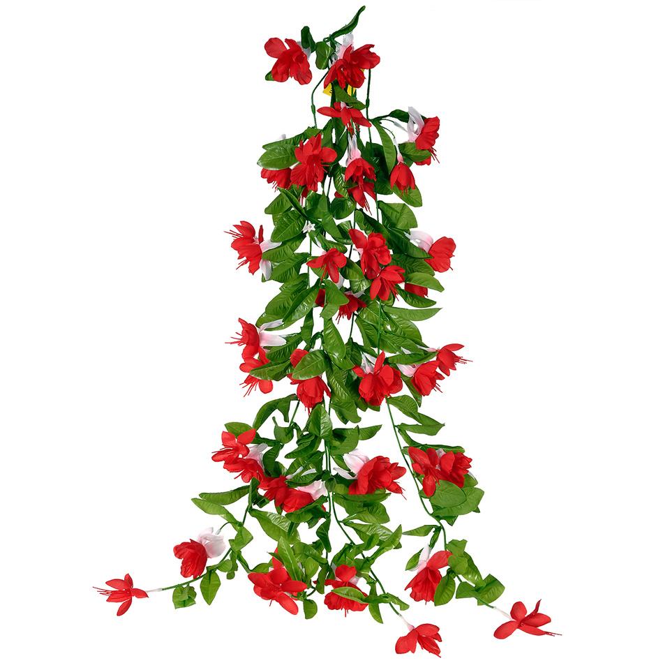 Umělá Fuchsie červená, 60 cm