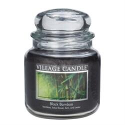 Village Candle Vonná svíčka Bambus  - Black Bamboo, 397 g