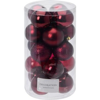 Globuri de Crăciun Inverno, diametru 6 cm