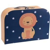 Koopman Dětský kufr Lvíček, 30 x 21 x 9,5 cm