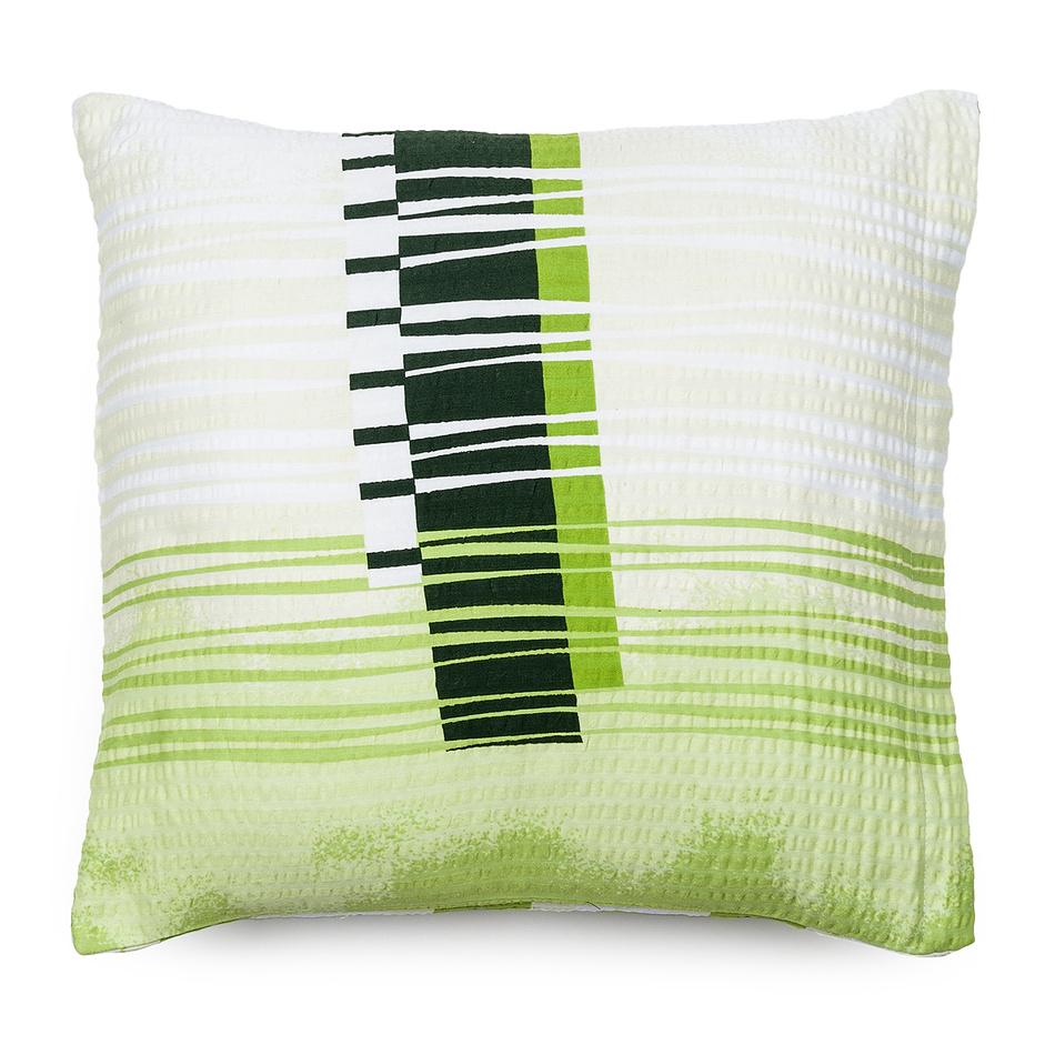 Jahu Obliečka na vankúš krepový satén Maxim green, 40 x 40 cm