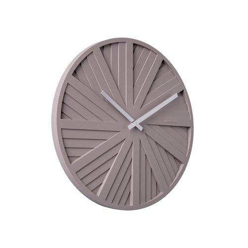 Karlsson KA5839GY Dizajnové nástenné hodiny, 40 cm