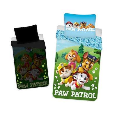 Detské bavlnené obliečky Paw Patrol, 140 x 200 cm, 70 x 90 cm
