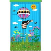 Dětský závěs Krtek v balónu, 140 x 245 cm