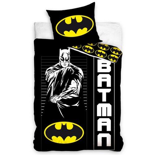 Dětské bavlněné povlečení Batman Strážce noci, 140 x 200 cm, 70 x 90 cm