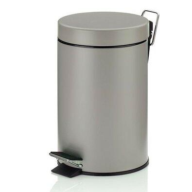 Kela Kosmetický odpadkový koš Monaco, 3 l, šedá