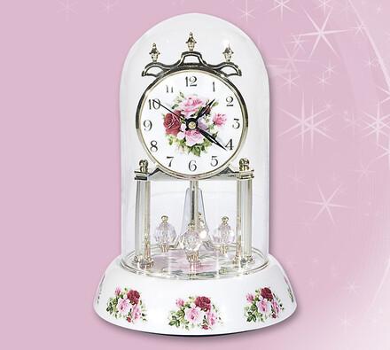 Porcelánové hodiny