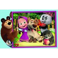 Trefl Puzzle Masha și ursul, MAXI 24 piese