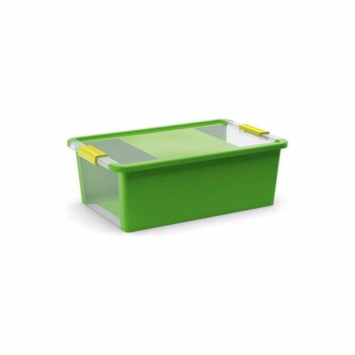 KIS Úložný box Bi Box M 26 l, zelená